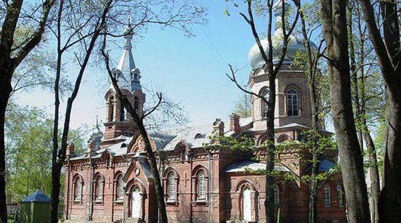 Воинский храм Святого благоверного князя Александра Невского. Псков.