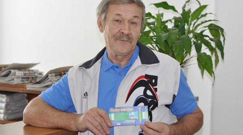 Сергей Лопотов надеется, что его билет будет выигрышным. Но даже если этого не случится , он не расстроится.