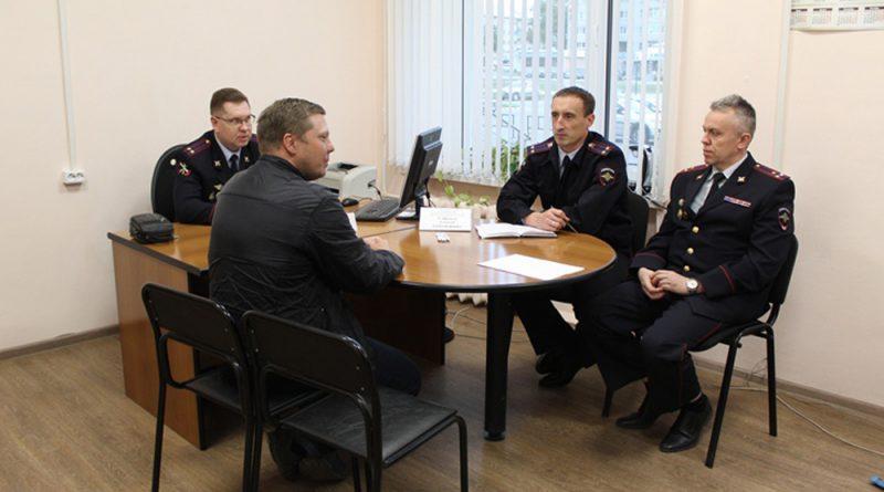 Сокольчане воспользовались возможностью задать вопросы руководству полиции.