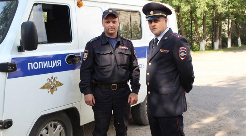 Сокольские полицейские - настоящие герои.