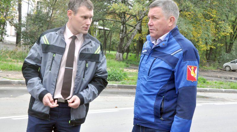 А.Накрошаев рассказал О.Кувшинникову о ремонте ул.Советской.