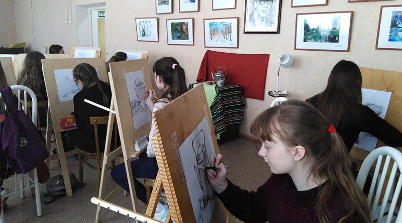 Успехи юных художников