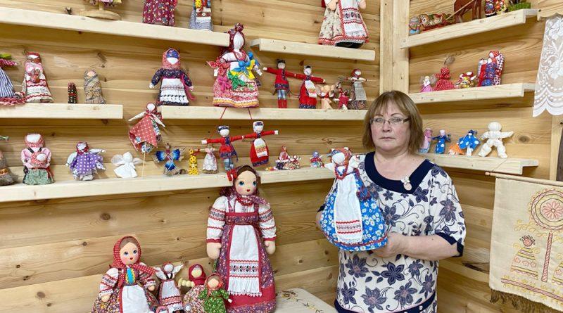 Очарование народной куклы